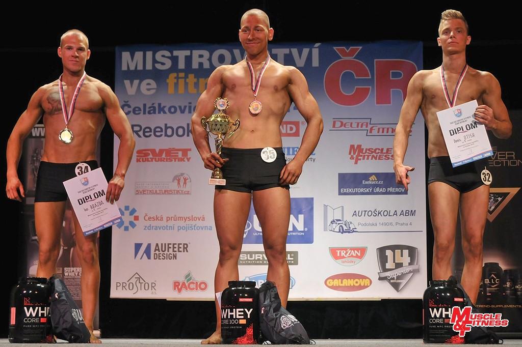 Atletické fitness juniorů: 2. Brázda, 1. Stuchlík, 3. Otisk.