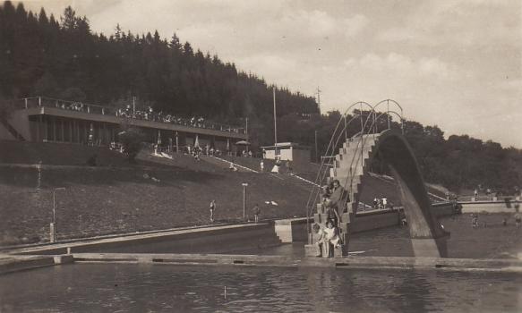 Koupaliště cca 1960