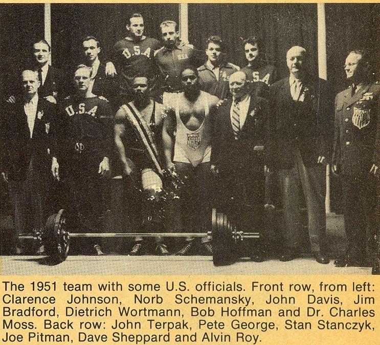 Davis v týmu USA - 1951