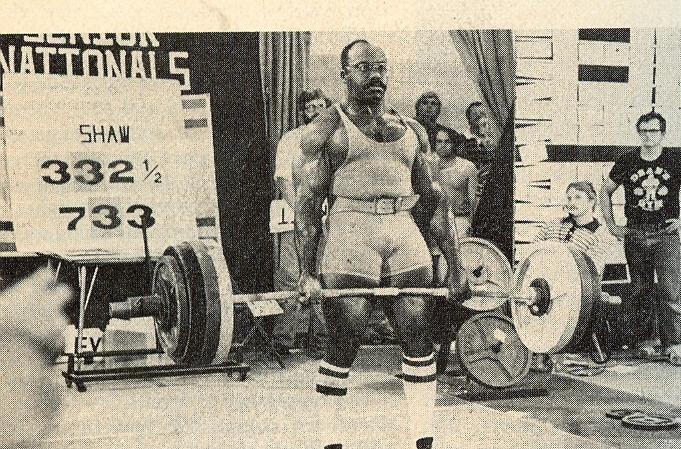 Shaw - 332,5kg
