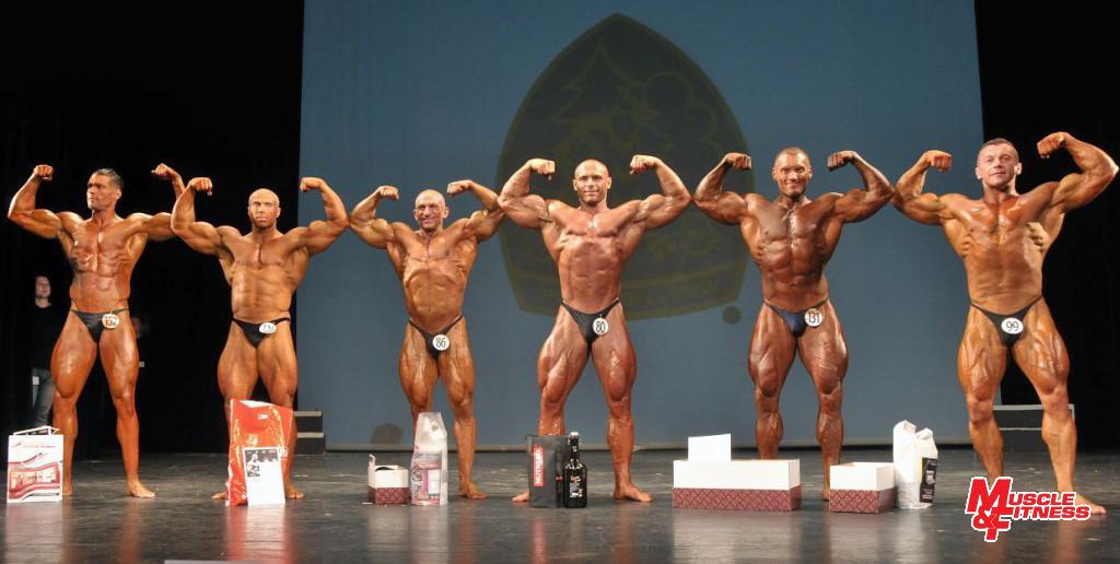 Finalisté do 100 kg: L. Havlík (6.), Niemczuk (4.), Potocki (2.), Kolodziejczyk (1.), Kudelis (3.), Biroš (5.)