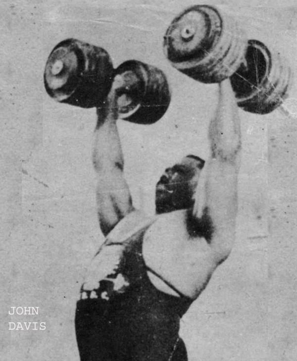Davis- jednoručky po 64,5 kg
