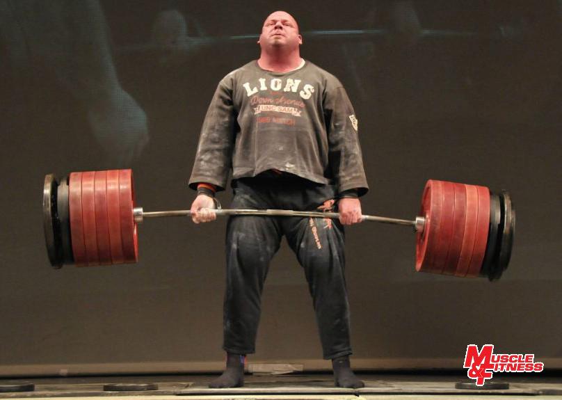 Čestmír Šíma (165 kg) dal v mrtvém tahu 380 kg.