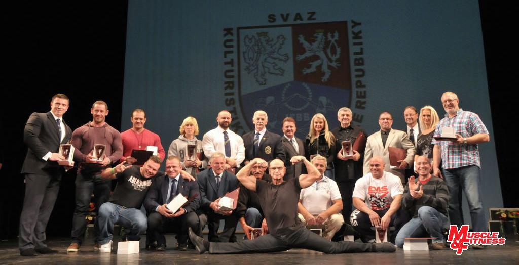Osobnosti oceněné u příležitosti 50. let organizované kulturistiky v Československu.