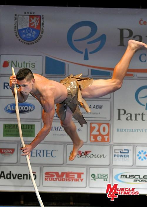 V málopočetné kategorii mužského fitness (2 závodníci) zvítězil Filip Cina.