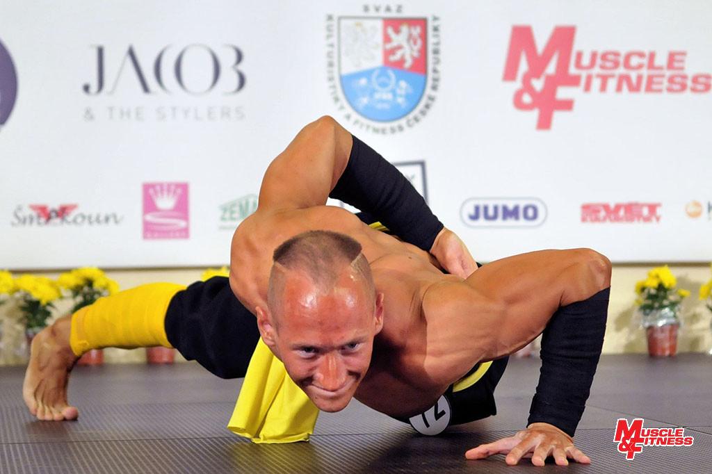 Ondřej Daňa zvítězil ve fitness mužů.
