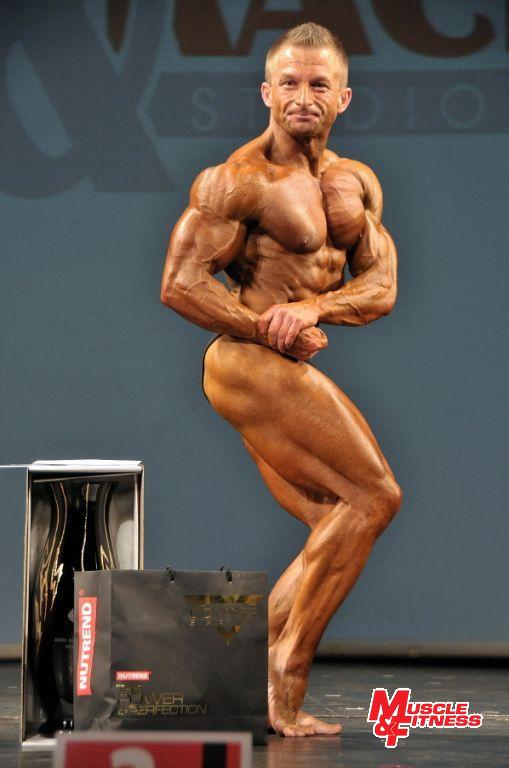 Vítěz do 80 kg Daniel Miklečič.