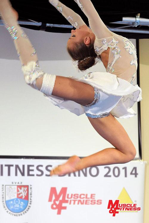 Aleksandra Kepa, nejlepší ve fitness starších dívek.