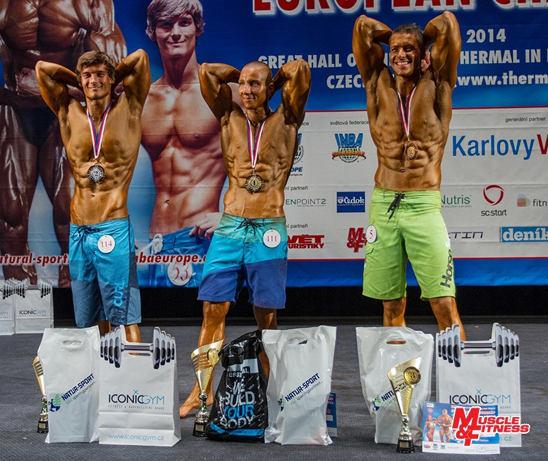 Mr. Physique: 2. Komosný, 1. Sokol, 3. Kadoun.
