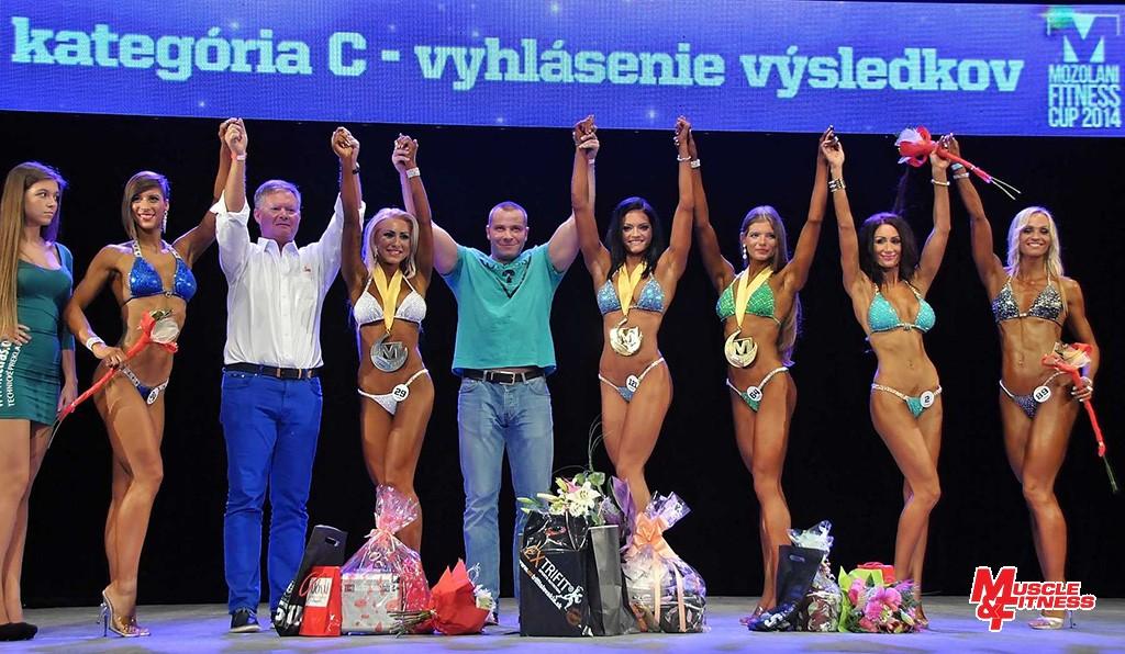 Finalistky: 5. Hanuláková, 2. Milová, 1. Pohánková, 3. Bohunická, 4. Lazarová, 6. Rišová.