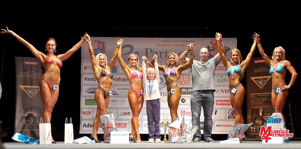 Bodyfitness: 6. Pavlíčková, 4. Forysiak, 2. Ludowicz, 1. Mazačová, 3. Tichá, 5. Štípková.