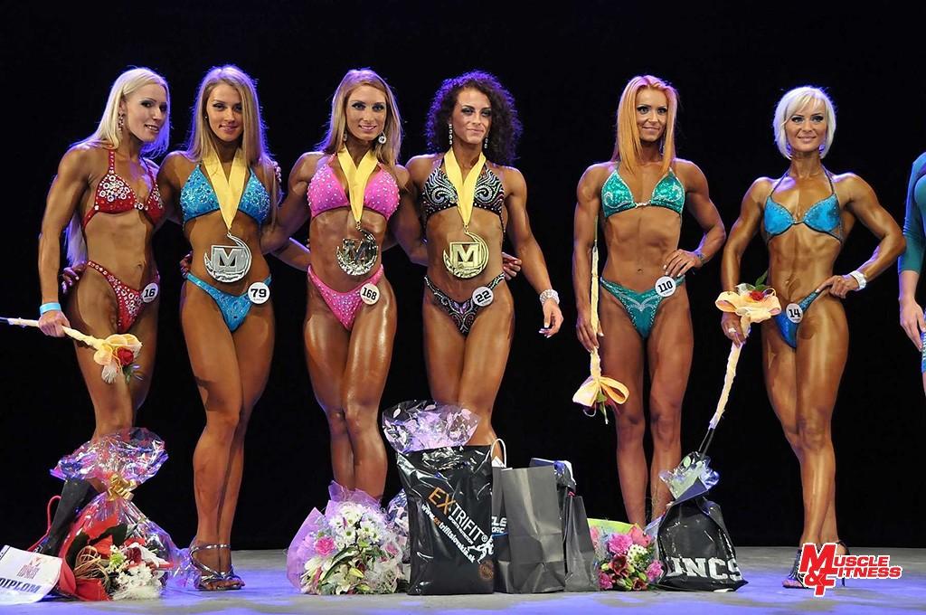 Finalistky: 5. Kovalčíková, 2. Tichá, 1. Ondrejovičová, 3. Hincová, 4. Štubňová, 6. Paračková.