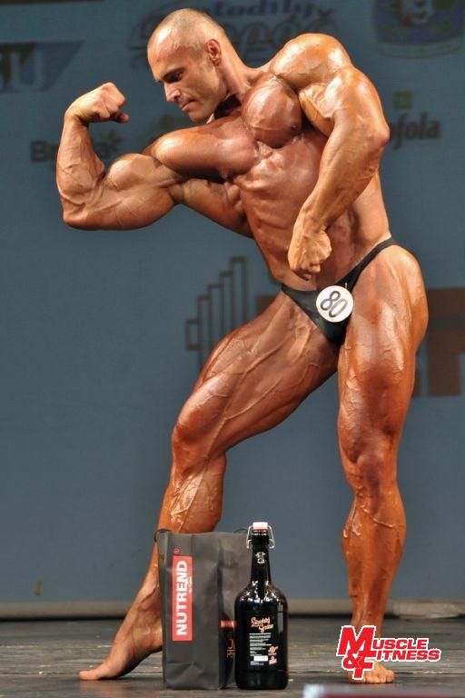 Vítěz nad 90 kg Andrzej Kolodziejczyk.