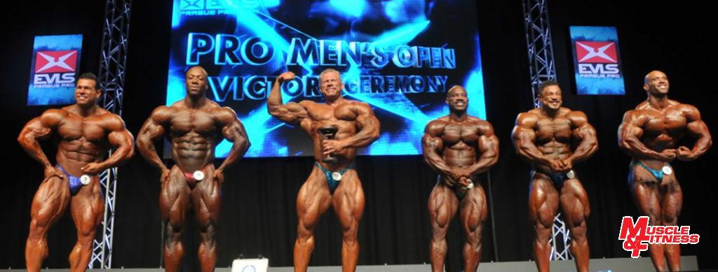 Vyhlášení finalistů kategorie open: 5. Kuclo, 3. Rhoden, 1. Wolf, 2. D. Jackson, 4. Winklaar, 6. Morel.