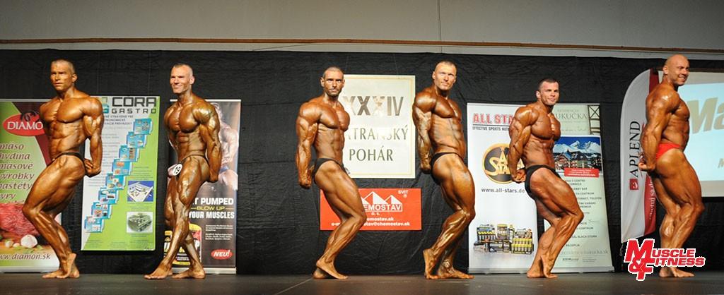Nad 85 kg: 1. Tatarka, 3. Dolanský, 4. Fartel, 5. Husti, 2. Oravec, 6. Bartosz.