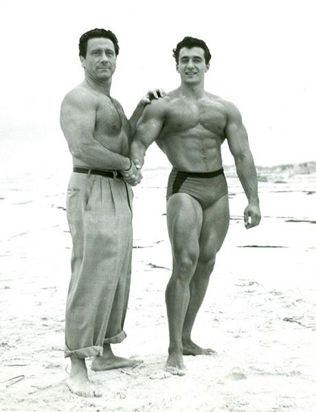 Sansone a Joe Weider