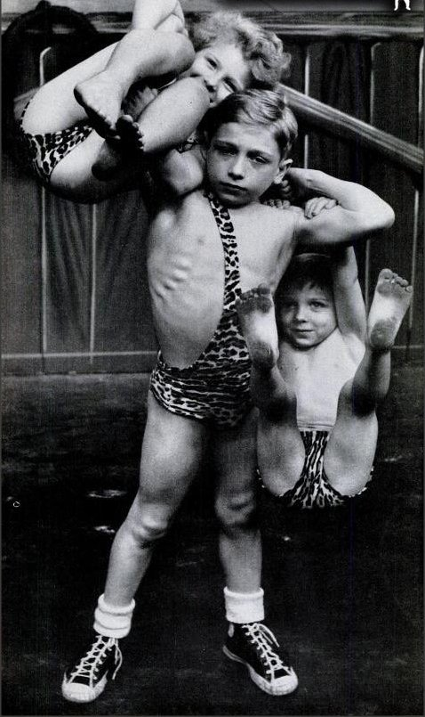 Malý silák z cirkusu
