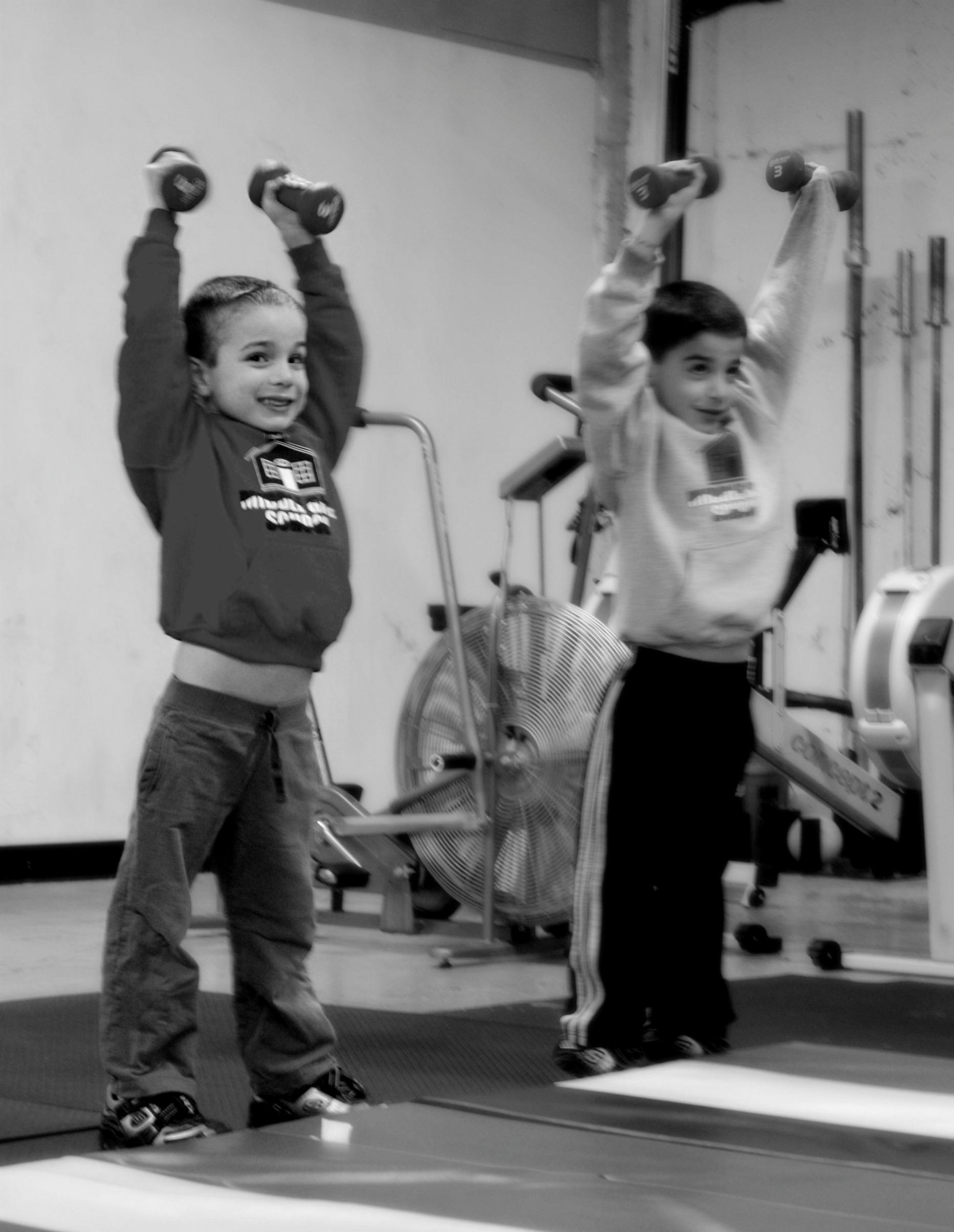 Cvičit lze od malička!