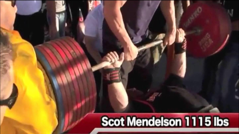 Scott Mendelson 505 kg
