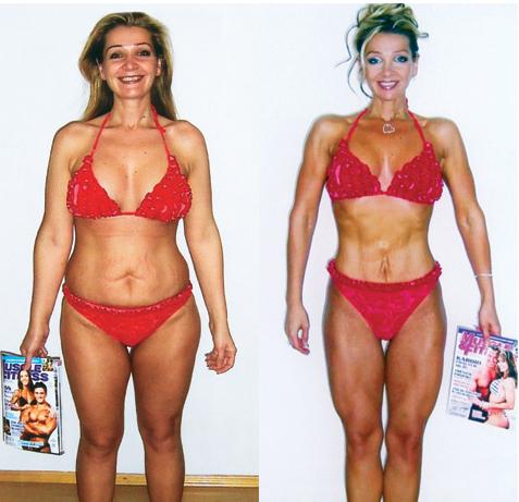 Martina však soutěžila už předtím a vyhrála svoji kategorii v roce 2007... (Dnes startuje na fitness soutěžích a je úspěšnou trenérkou.)