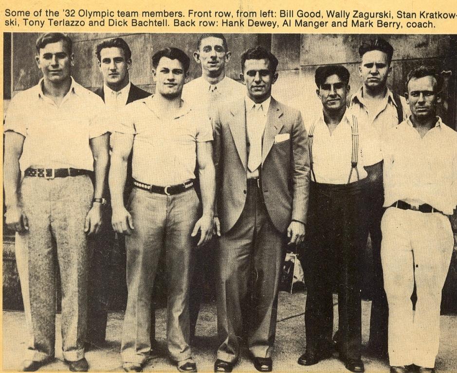USA team 1932