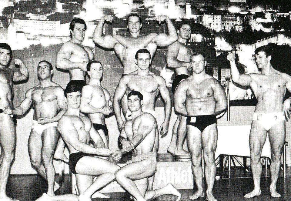 Riedmeier -1966 (vlevo od Arnolda)
