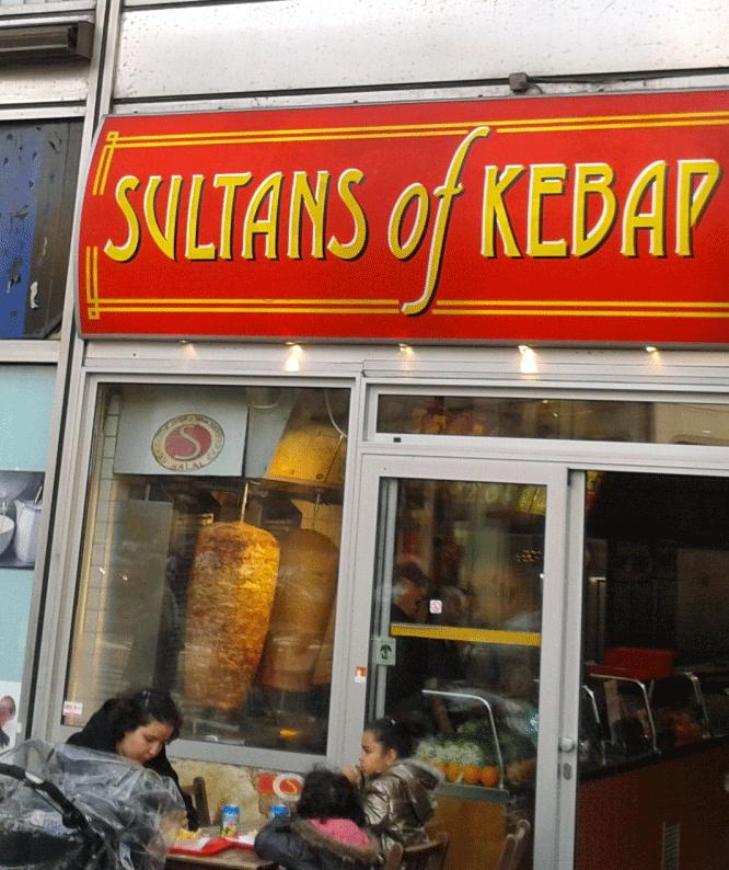 Kebab verzus pizza