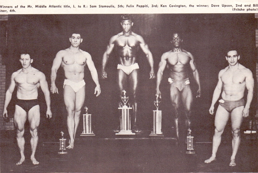 Bodybuilder Bill Starr.