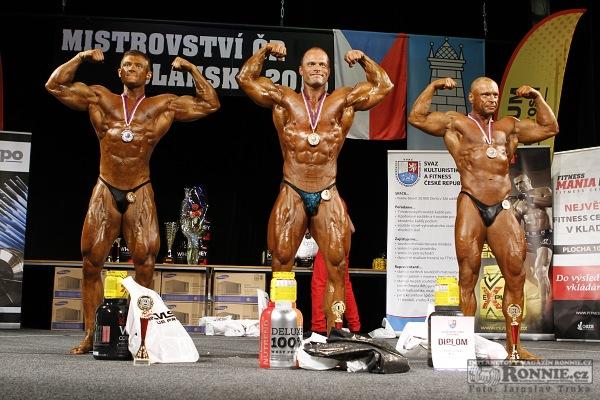 Kulturistika mužů nad 90 kg
