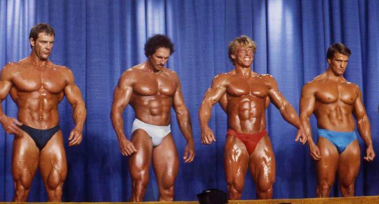 Callard (vpravo) rok 1984