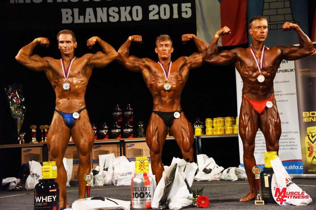 Kulturistika mužů do 75 kg