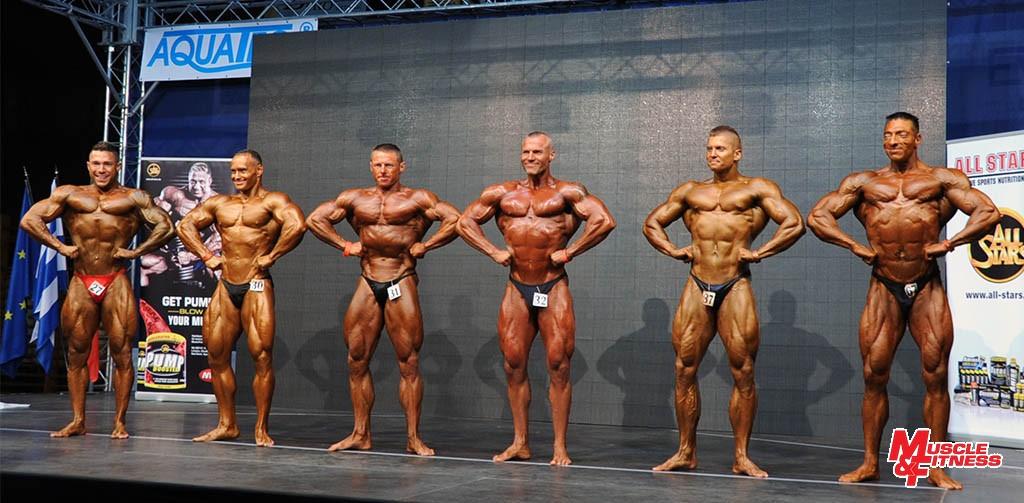Kulturistika do 90 kg: 4. Šiška, 1. Nagy, 5. Skalský, 6. Dolanský, 3. Radošovský, 2. Greguš