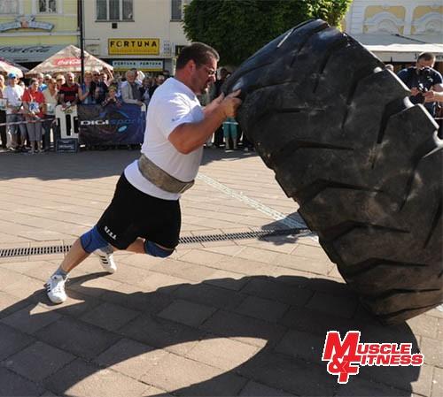 Igor Petrík (prevracanie pneumatiky)