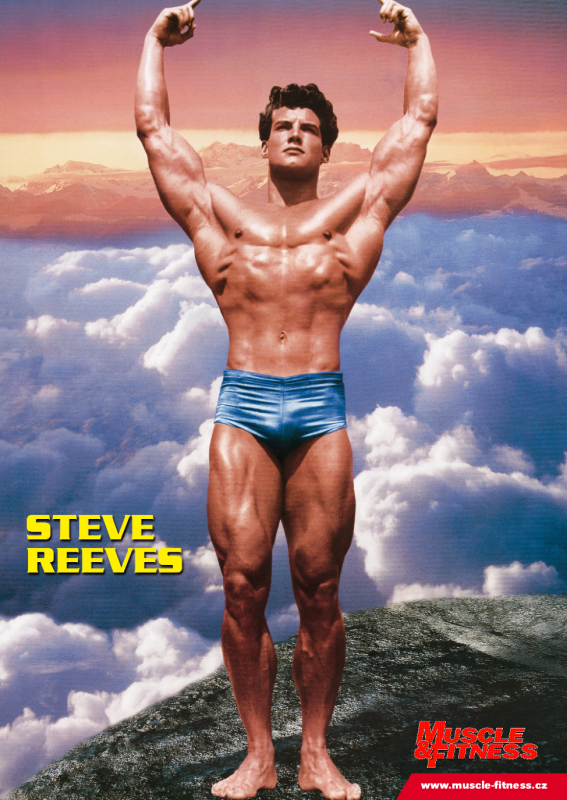 Steve Reevese na plakátu MF