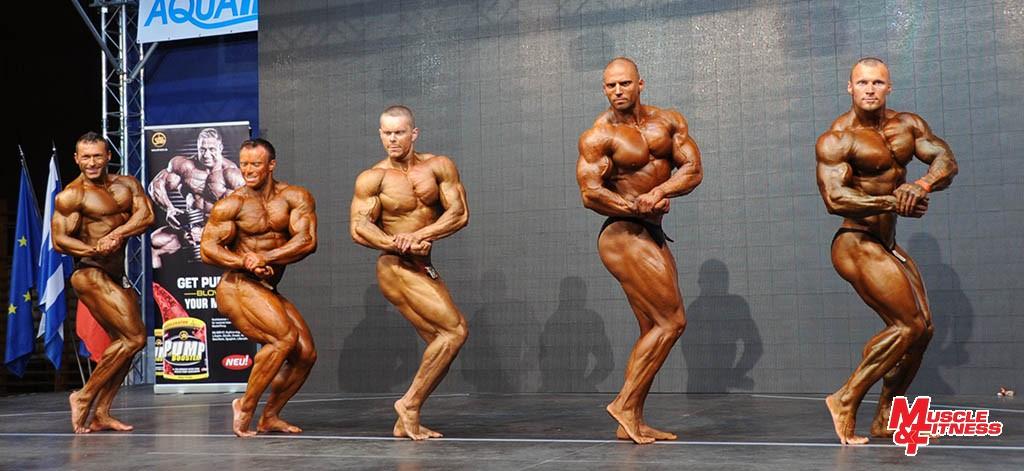 Kulturistika nad 90 kg: Grolmus (diskv.), 2. Nemec, 1. Varga, 4. Susnyák, 3. Huszti. Pôvodne bol na prvom mieste vyhlásený Marián Grolmus, z dôvodu odmietnutia dopingovej kontroly bol však diskvalifikovaný.