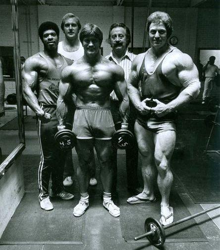 Sprague s borci v Goldens Gym