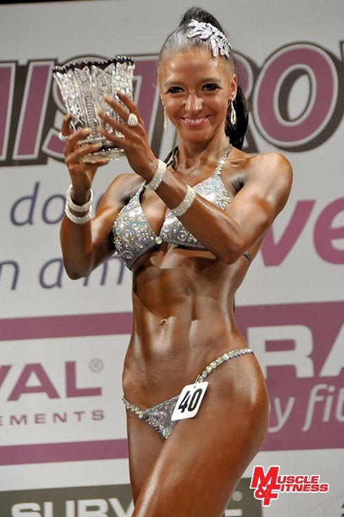 Absolutní vítězka v bikini fitness Veronika Wertheimová.