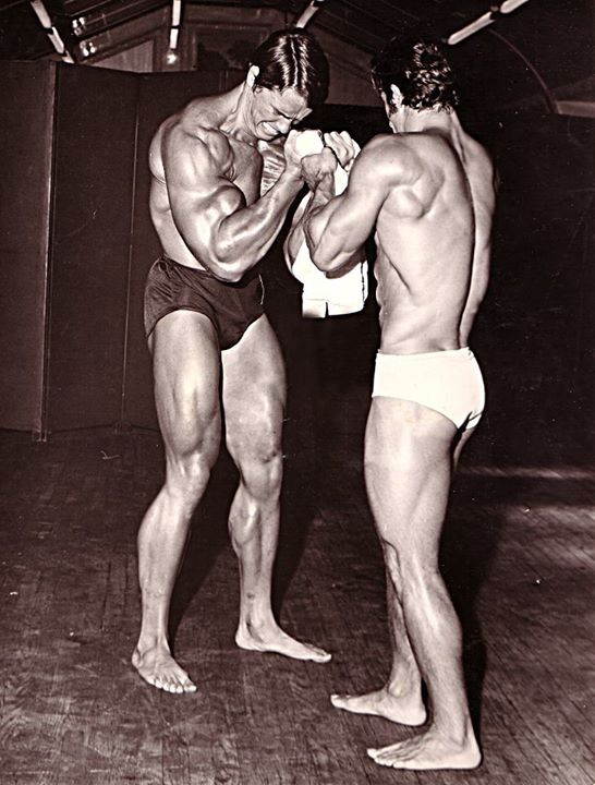 Kassim Yazbek pumping s Arnoldem