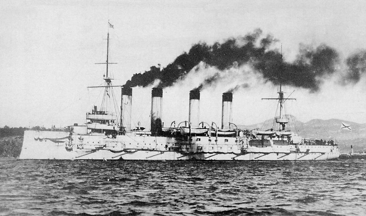 Babuškin - křižník Bajan