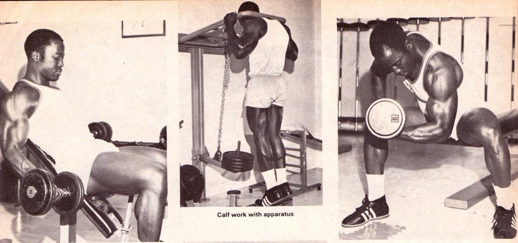 Morris - trénink