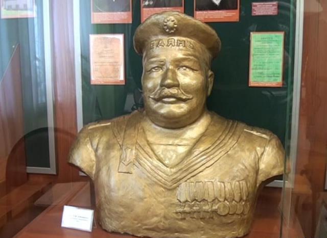 Babuškin - busta v muzeu
