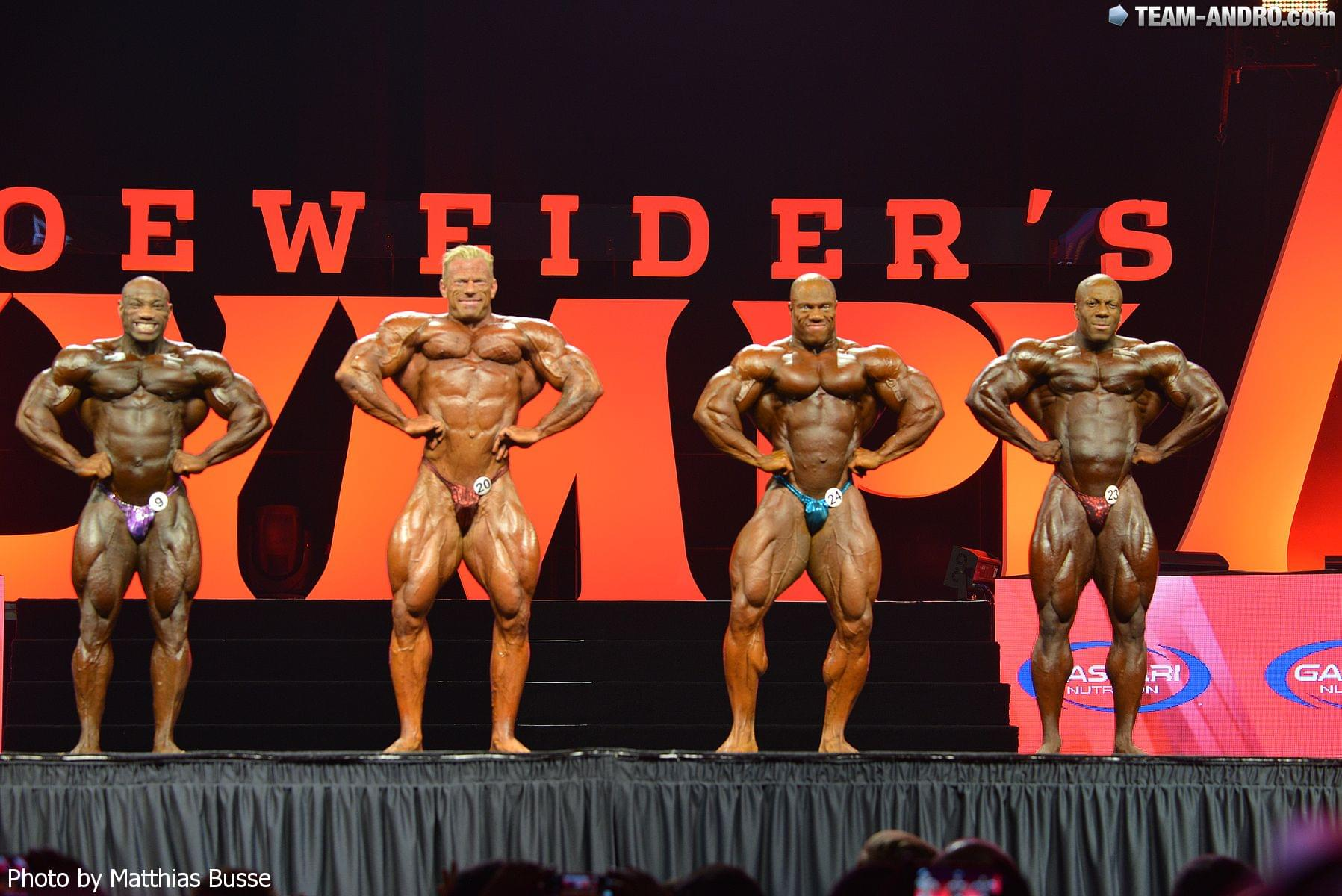 Kvarteto najlepších (zľava): D. Jackson, Wolf, Heath, Rhoden.
