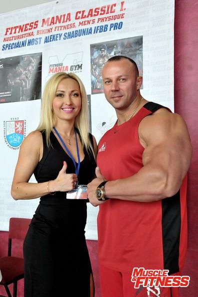 Valerie Peršina a Alexej Šabuňa.