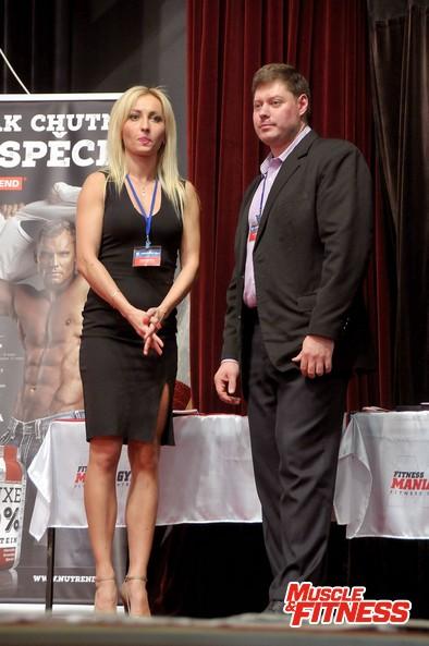 Yury Scherbakov a Valerie Peršina.