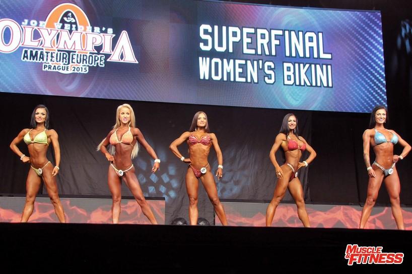 Superfinále – bikini fitness