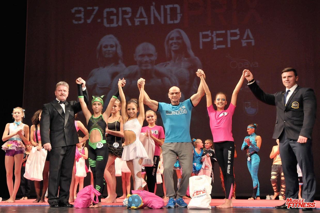 fitness dívek do 12 let