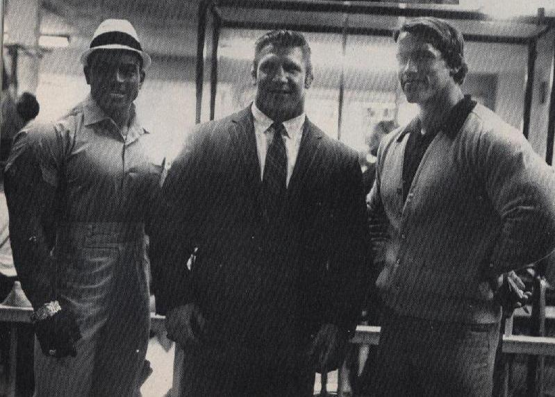 Sammartino se Sergiem Olivou a Arnoldem