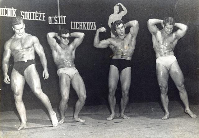 Šnajdr na soutěži Lichkove v roce 1971.