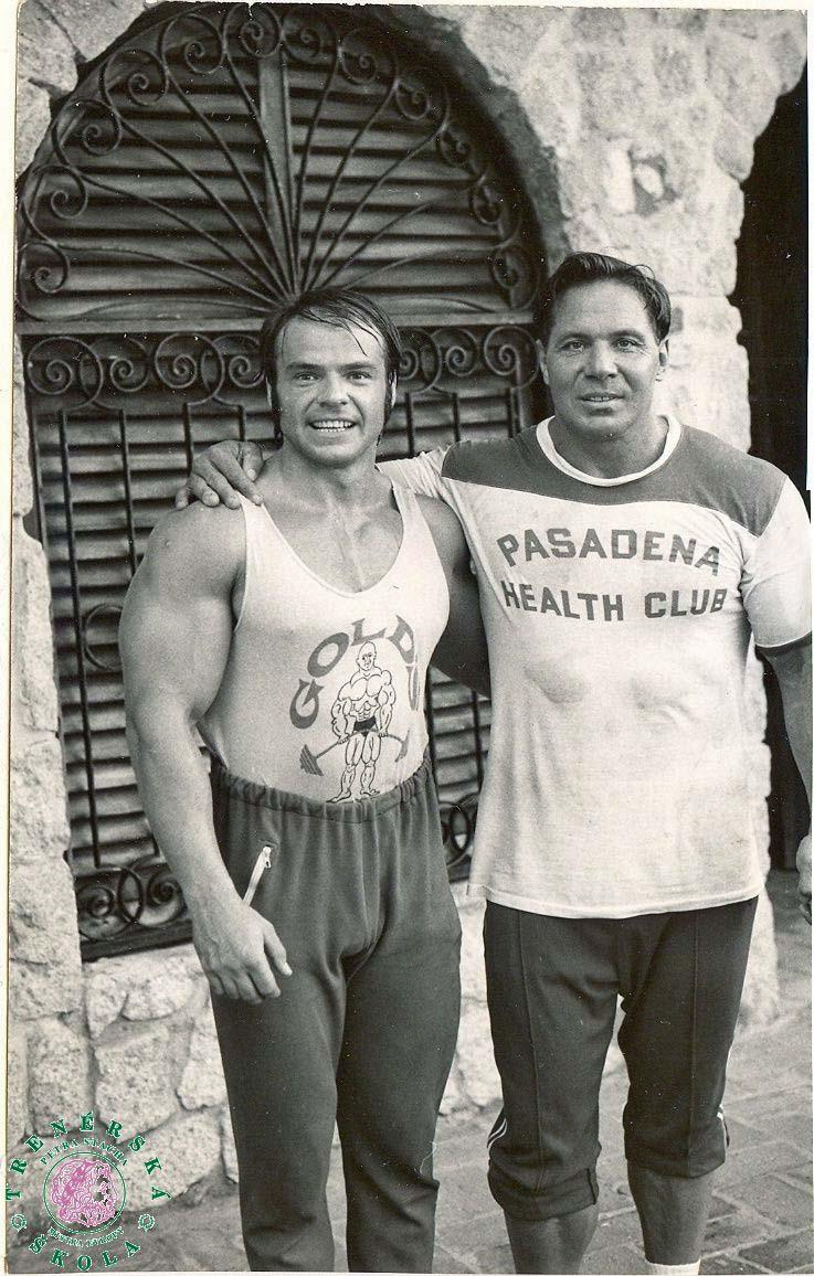 V Acapulcu s legendárním Billem Pearlem.