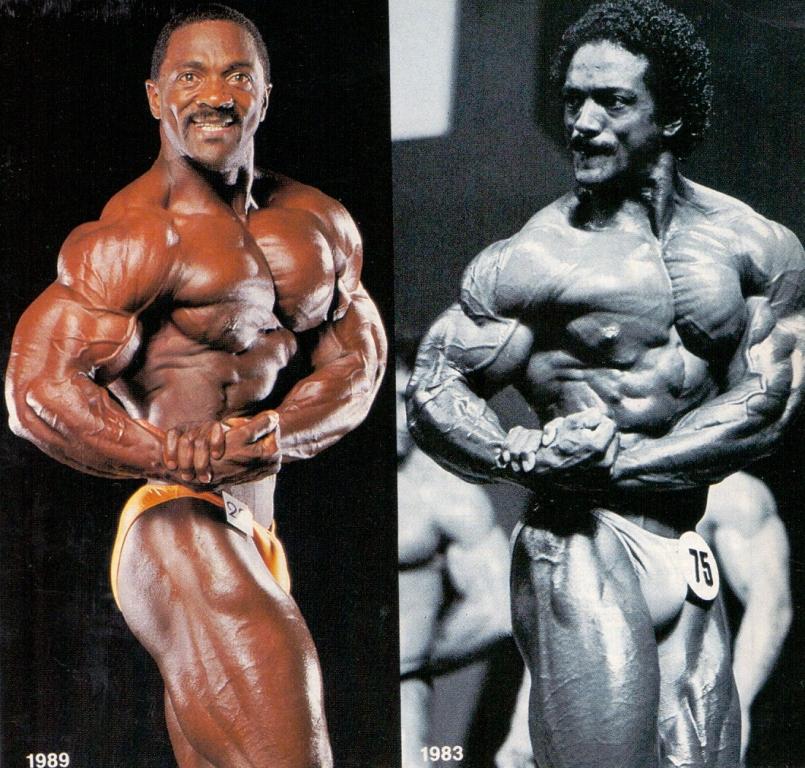 Charles Glass v roce 1983 (vlevo) a 1939.